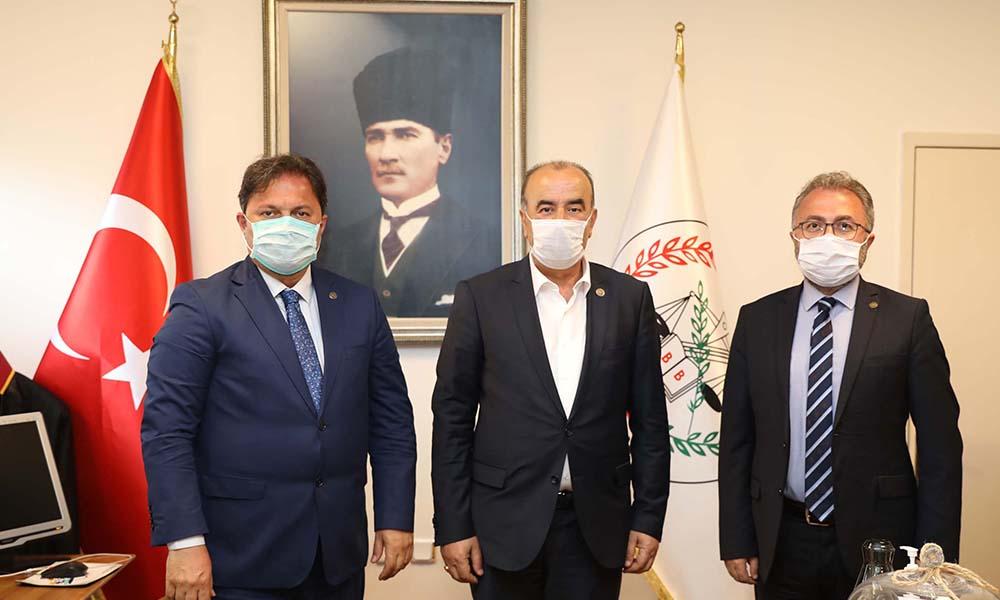 Başkan Türkyılmaz'dan Bursa Barosu'na dayanışma ziyareti
