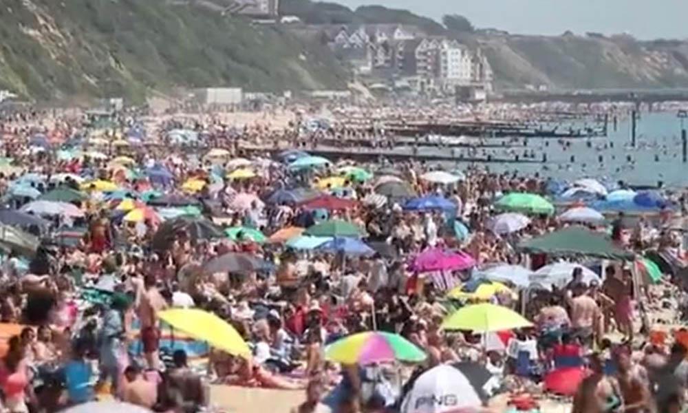 Koronavirüs unutuldu! Güneşi gören plajlara akın ediyor