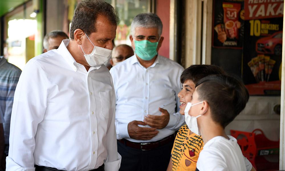 Başkan Seçer, Çay ve Çilek mahallelerini ziyaret etti