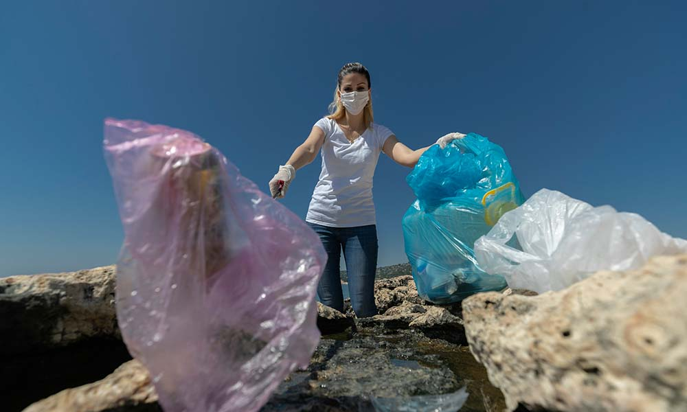 Bu çöpler doğaya ait değil