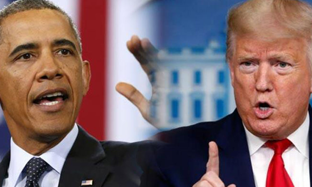 Trump, Obama'yı vatana ihanetle suçladı