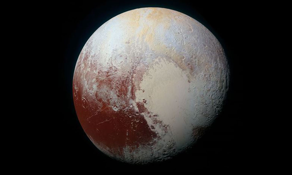 NASA'dan Plüton iddiası! Kabuğunun altında…