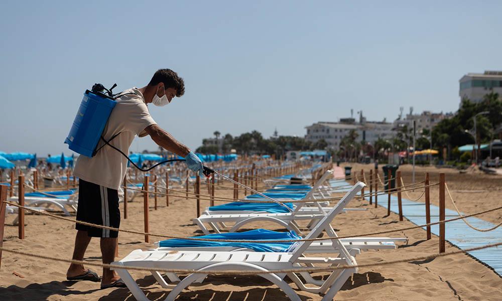 Büyükşehir'den plajlarda dört dörtlük önlem