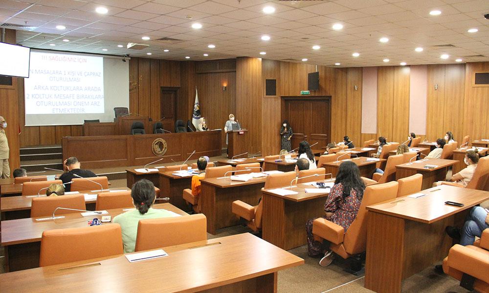 Kartal Belediyesi'nden çalışanlara 'Performans Programı Hazırlama' eğitimi