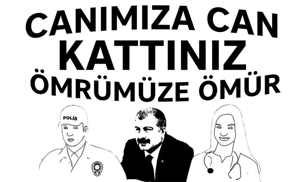 Erdoğan'ın memleketinde Fahrettin Koca koreografisi skandalı!