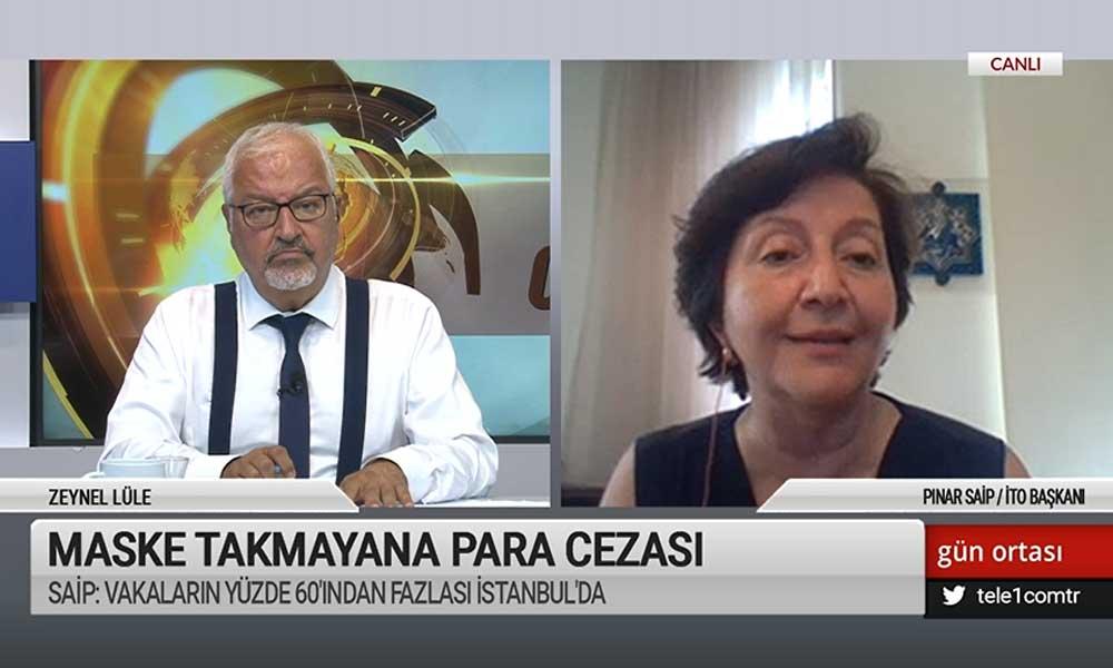İstanbul Tabip Odası Başkanı Saip'ten İstanbul açıklaması