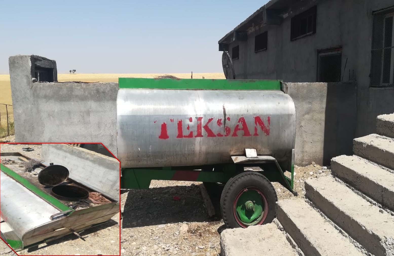 TPAO'dan 9 bin 200 litre ham petrol çalan 3 kişi yakalandı
