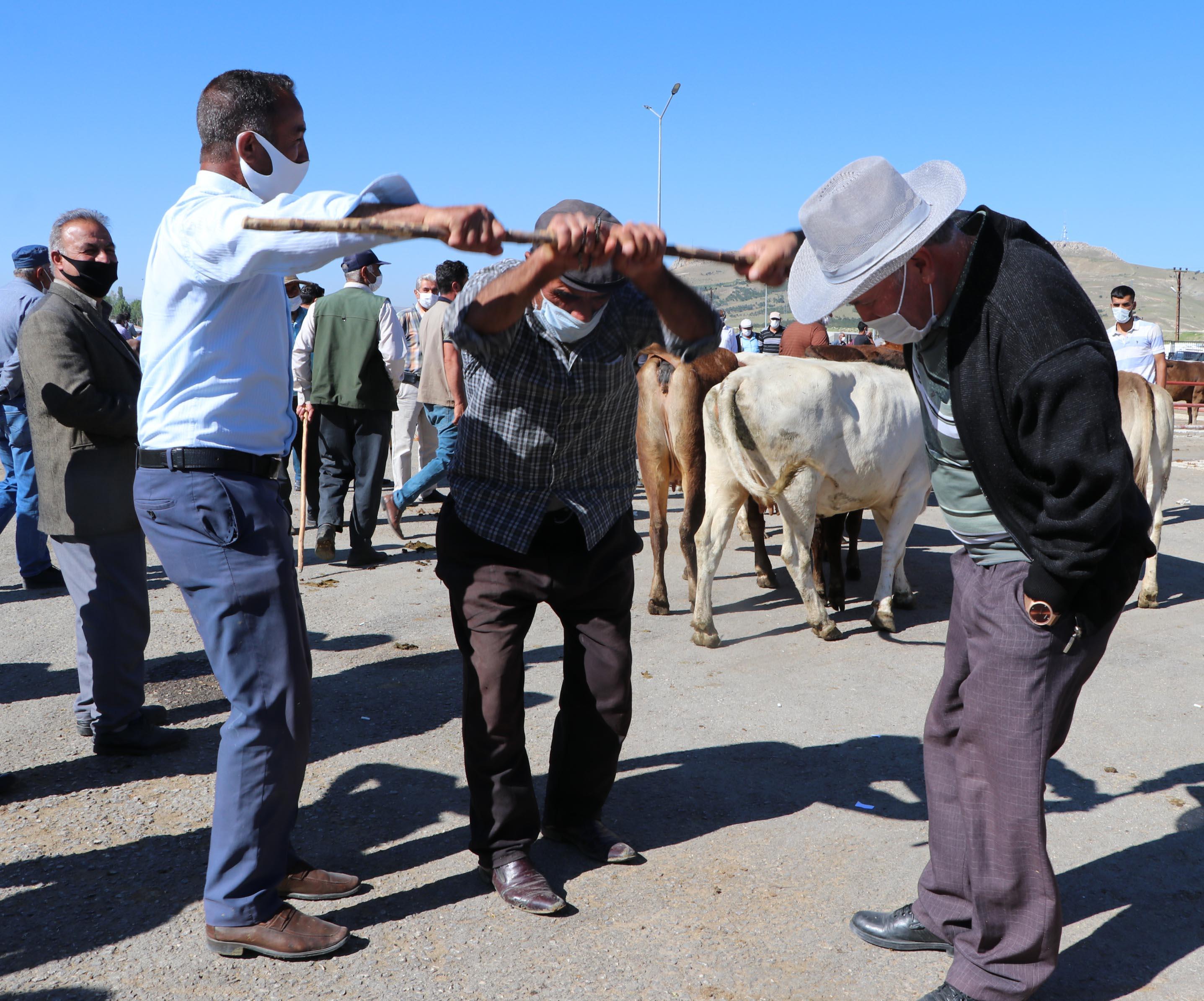 Van'da canlı hayvan pazarı açıldı
