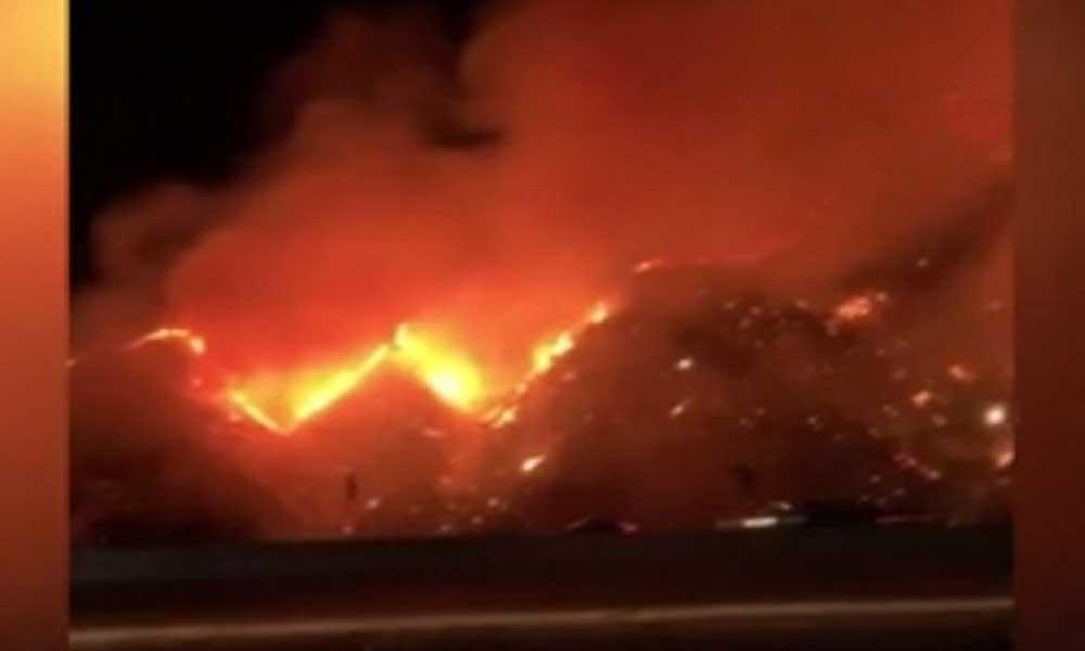 ABD'de lüks villaların bulunduğu alanda yangın: 50 dönüm kül oldu