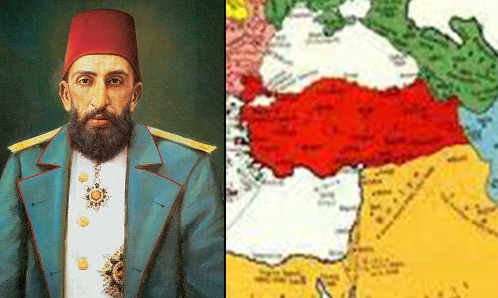 İşte Abdülhamit döneminde Osmanlı'nın kaybettiği topraklar