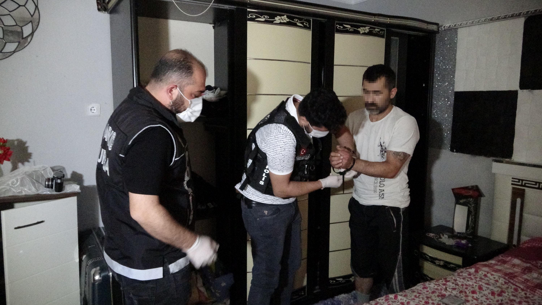 Bursa'da bin polisle uyuşturucu operasyonu