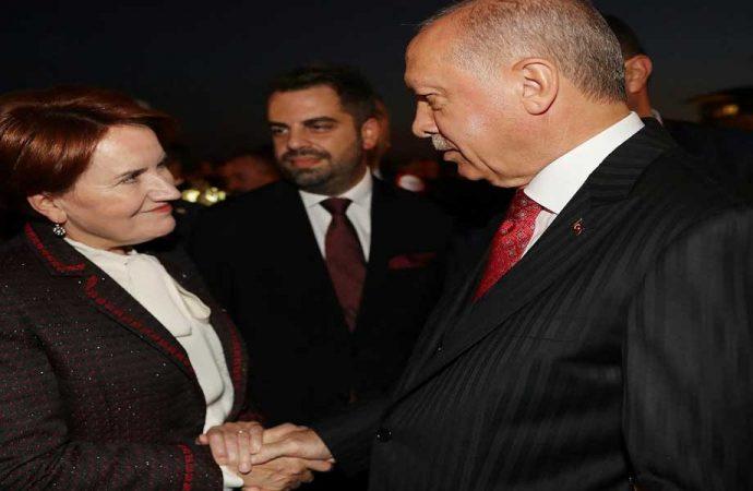 Akşener 'Erdoğan'la masaya oturma' şartını açıkladı