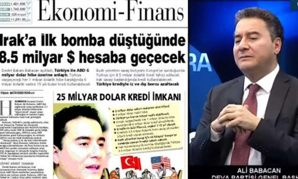 Ali Babacan 'Bomba' haberini 18 yıl sonra yalanladı