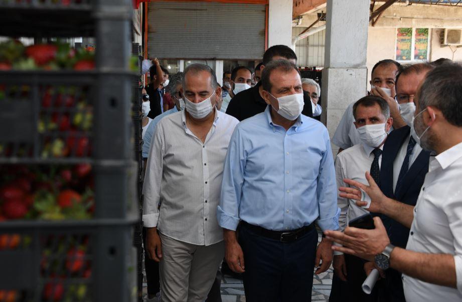Başkan Seçer, Anamur'da incelemelerde bulundu, yurttaşlarla buluştu
