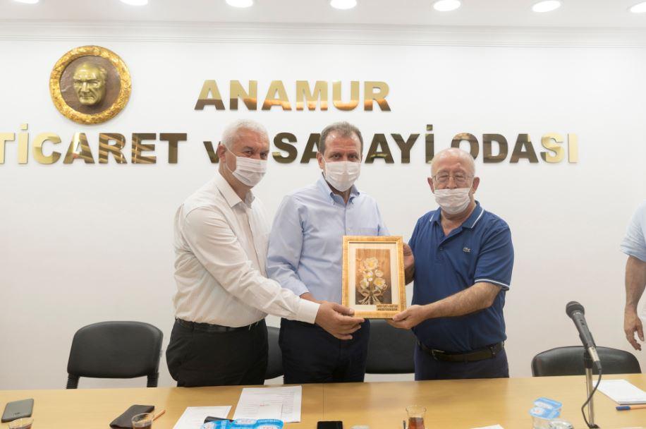 Başkan Seçer, Anamur OSB için destek sözü verdi