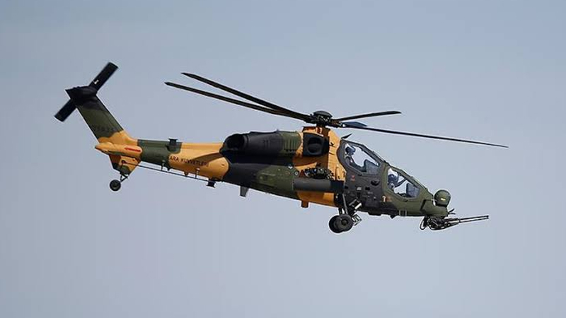'57'nci ATAK helikopteri teslim edildi'