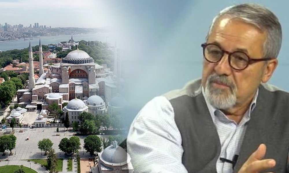 Prof.Naci Görür'den dikkat çeken Ayasofya yorumu