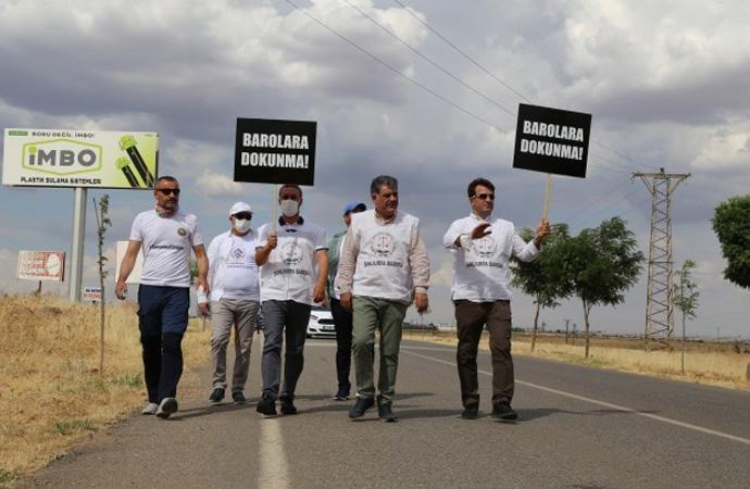 Baro başkanlarının yürüyüşünde 2.gün: Eşit ve özgür bir ülke için yoldayız