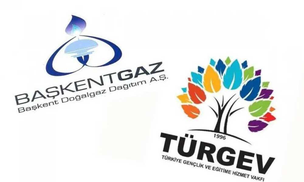 'Başkentgaz'dan TÜRGEV'e bağış' haberlerine engelleme