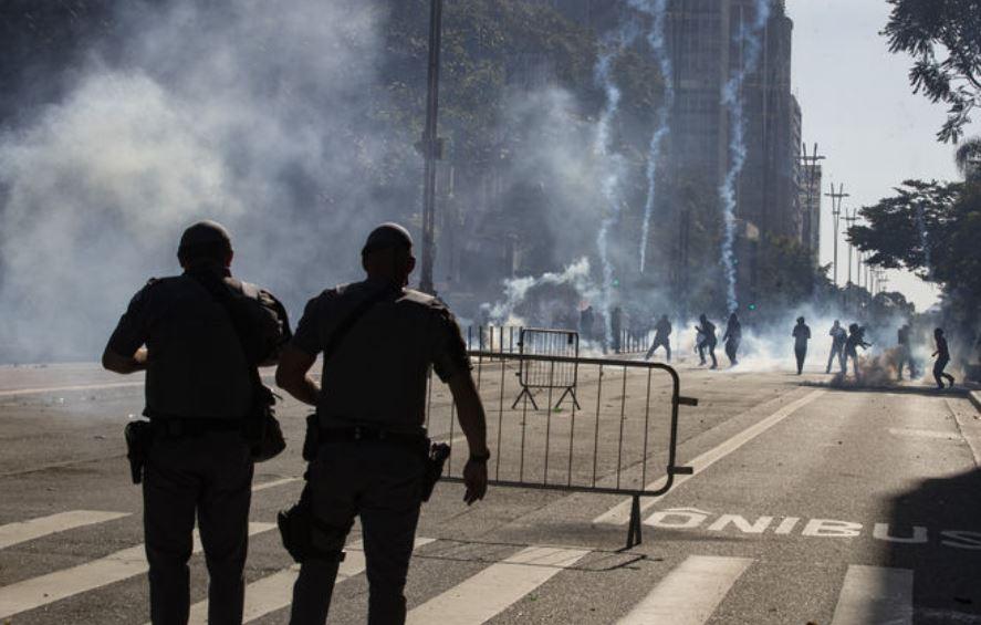 ABD'nin ardından Brezilya'da da sokaklar karıştı