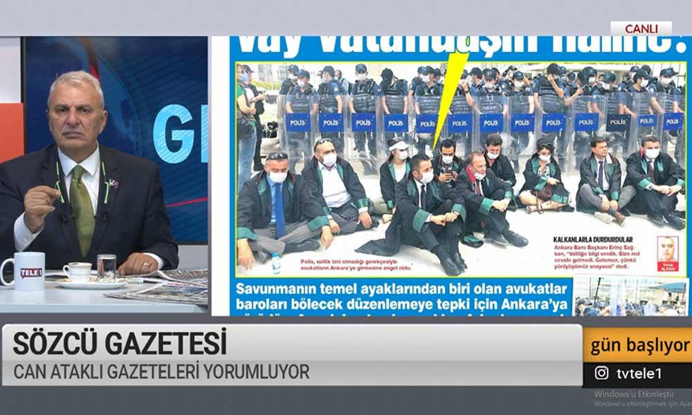 Can Ataklı'dan Feyzioğlu'na 'izin' tepkisi: Git Beştepe'nin kapısına…