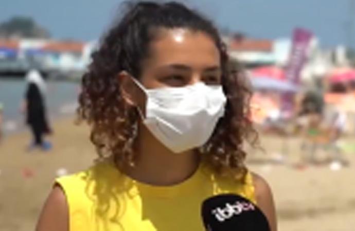 İBB plajlarında ilk: Kadın cankurtaranlar göreve başladı!