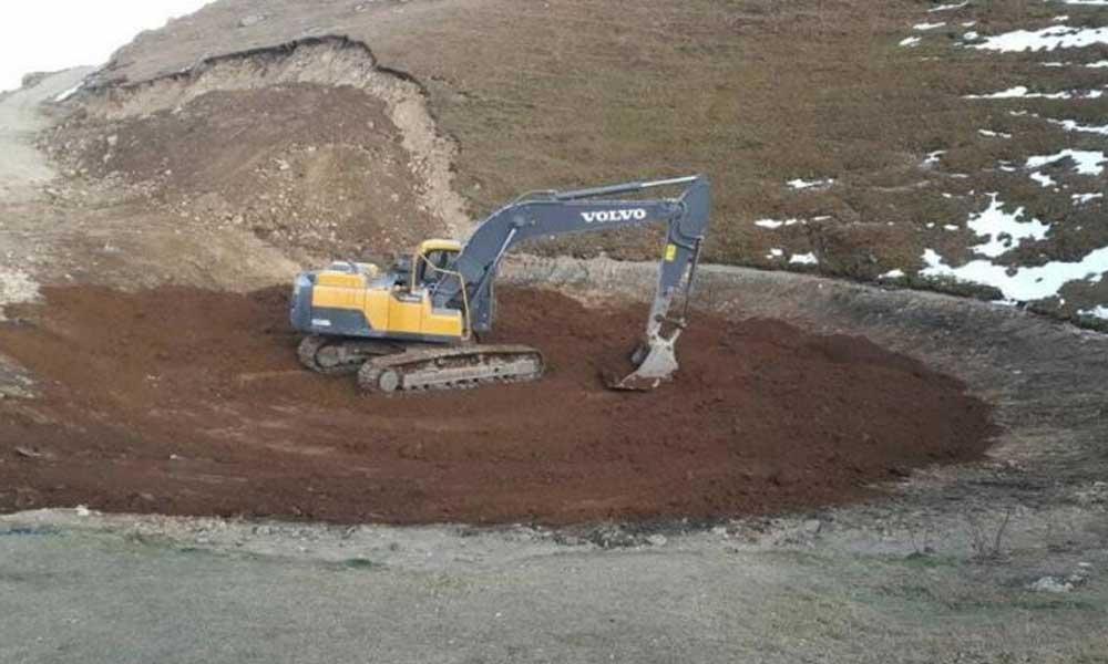 12 bin yıllık Dipsiz Göl su tutmadı