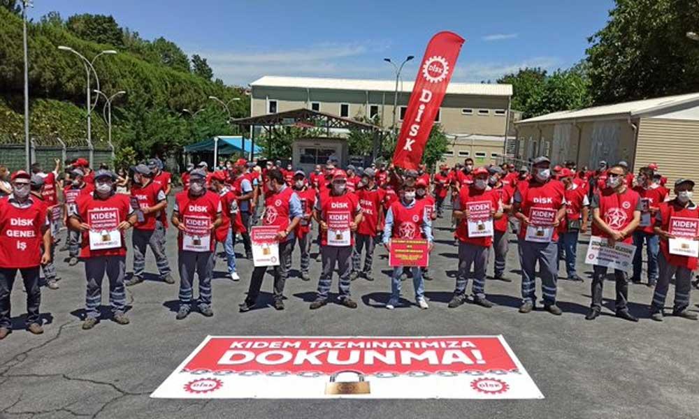 Sendikalar 81 ilde eylemdeydi: Yasa teklifi gelirse greve gideceğiz