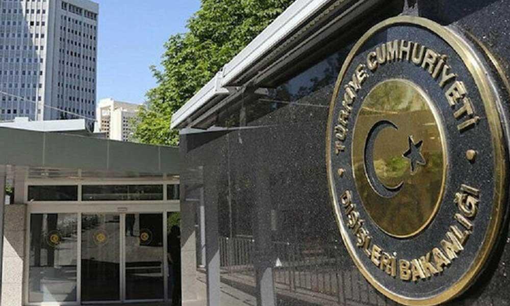 Dışişleri Bakanlığı'ndan, 'Atatürk heykeline saldırı' açıklaması