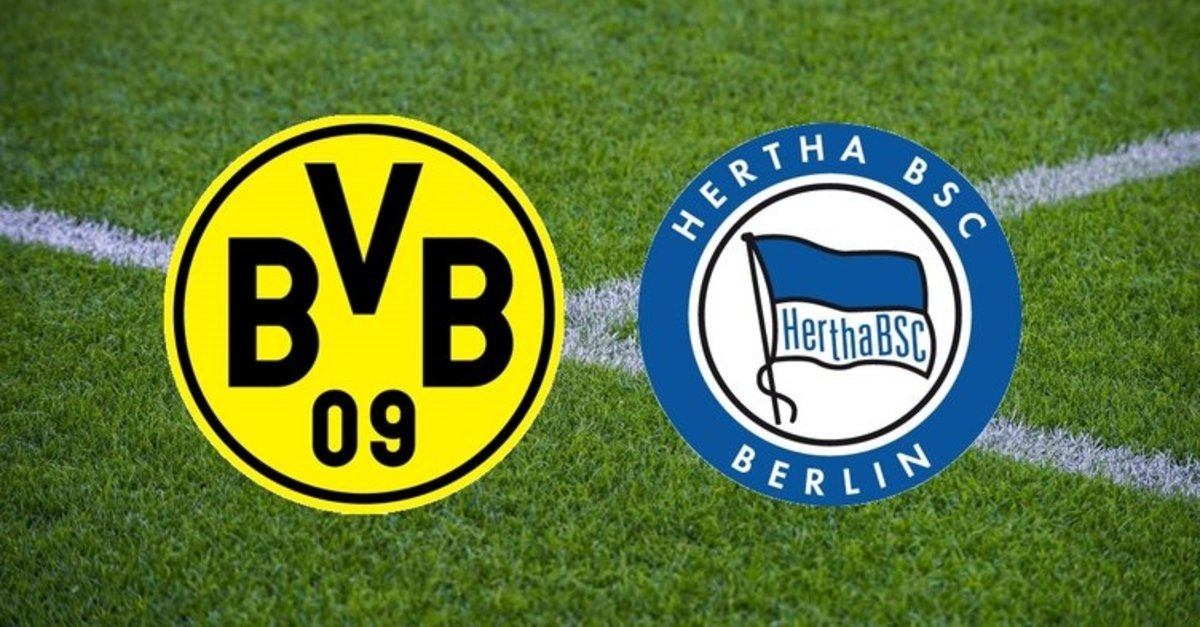 Borussia Dortmund, Hertha Berlin'i Emre Can'ın golüyle devirdi