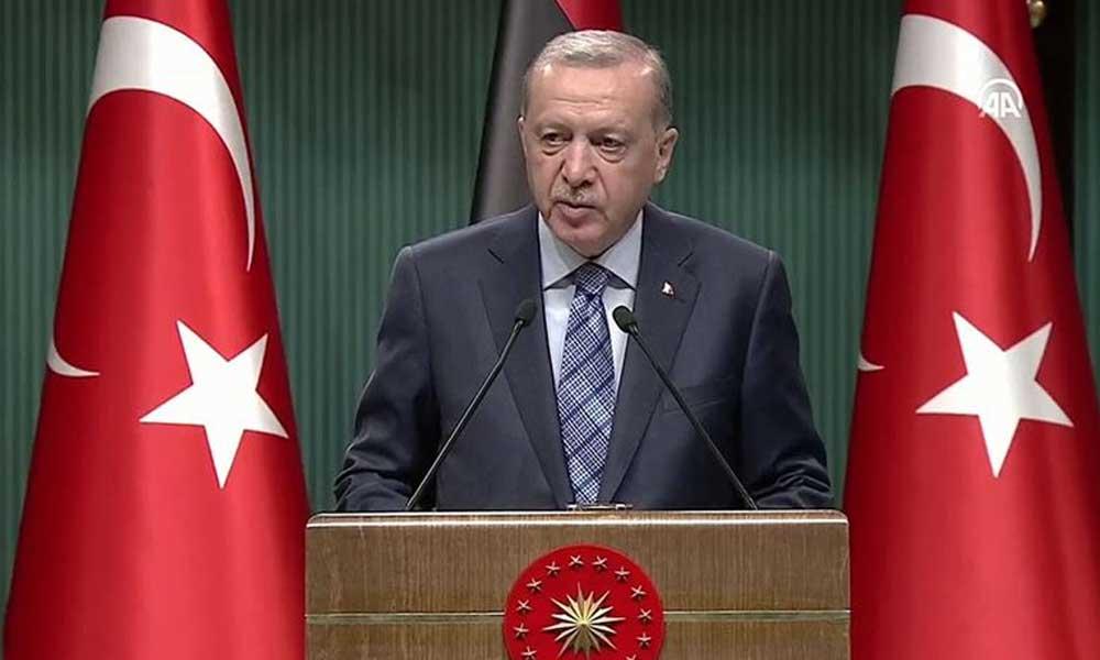 Erdoğan: Ekonominin çarkları tam güç dönmeye başladı