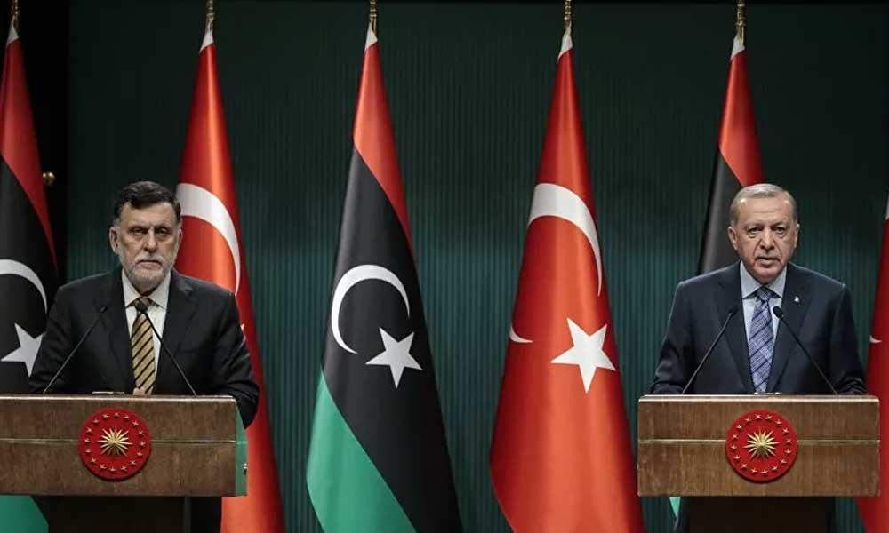 Erdoğan: Sarraj'la birlikte hareket edeceğiz