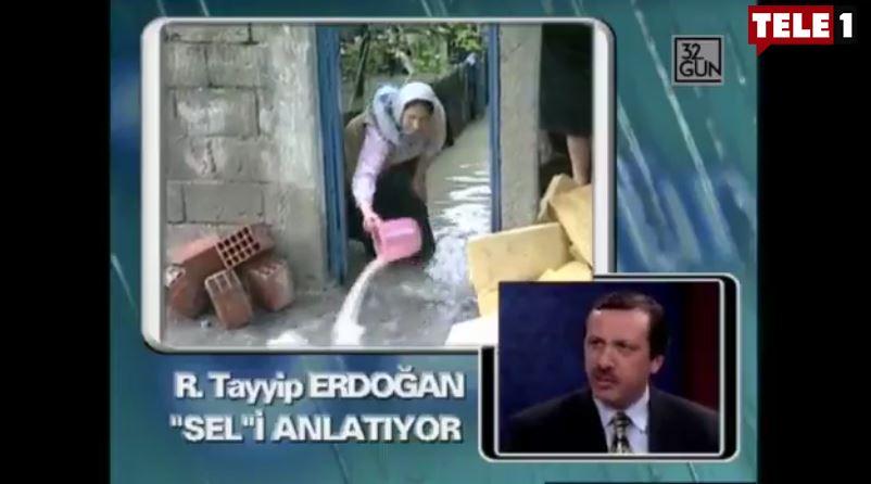 Arşiv unutmaz! Erdoğan, 150 evin sular altında kaldığı sel felaketi sonrası ne demişti?