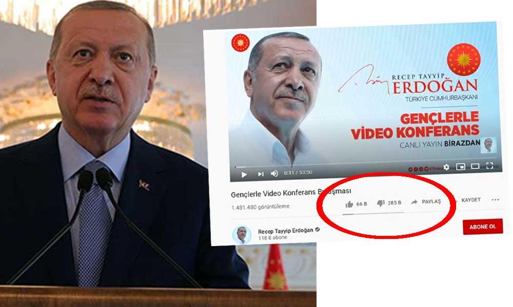 Erdoğan'a Z kuşağı şoku! Binlerce dislike atıldı… Dislike nedir? Dislike nasıl atılır?