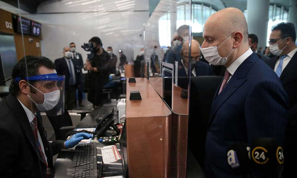 Havalimanlarında yeni dönem… İlk 'salgın sertifikası' İstanbul Havalimanı'na verildi