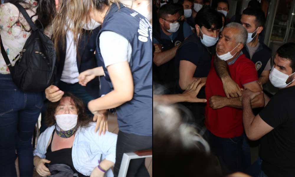 HDP'nin 'Demokrasi Yürüyüşü'ne polis müdahalesi: Vekiller darp edildi