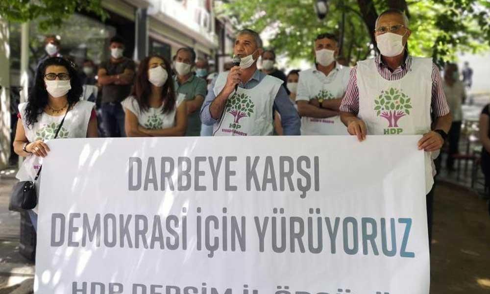 HDP'nin Demokrasi Yürüyüşü 3. gününde | 16 kente giriş yasaklandı