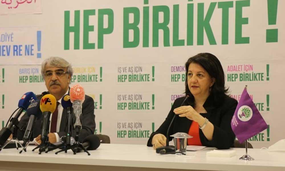 HDP yeni dönem siyasetini açıkladı: İşte 9 maddelik çağrı