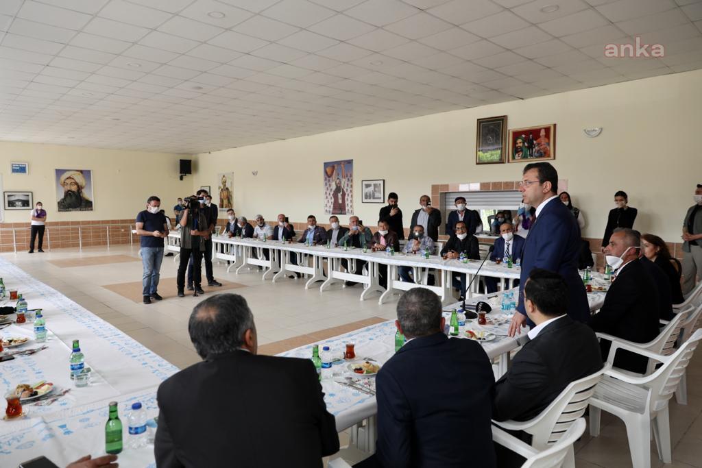 İBB Başkanı İmamoğlu'ndan 'cemevi' müjdesi