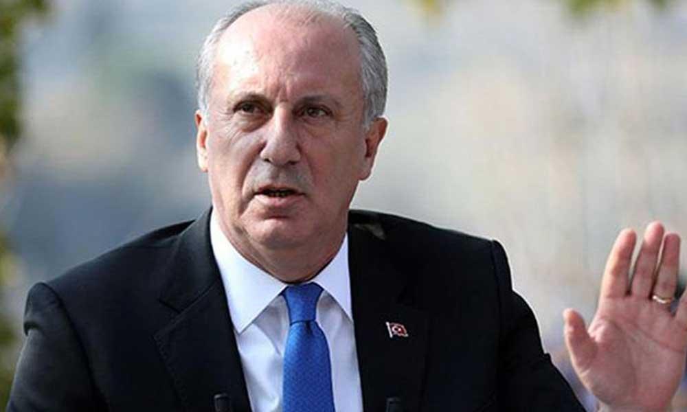 Muharrem İnce 'Biz Bize Yeteriz Türkiye' kampanyasını işaret etti: Düşünün heba edilen parayı
