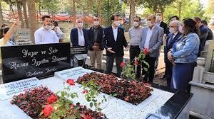 İmamoğlu yazar Hasan İzzettin Dinamo'nun anma törenine katıldı