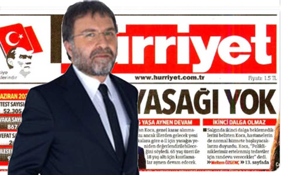 Hürriyet'in manşetine büyük tepki…