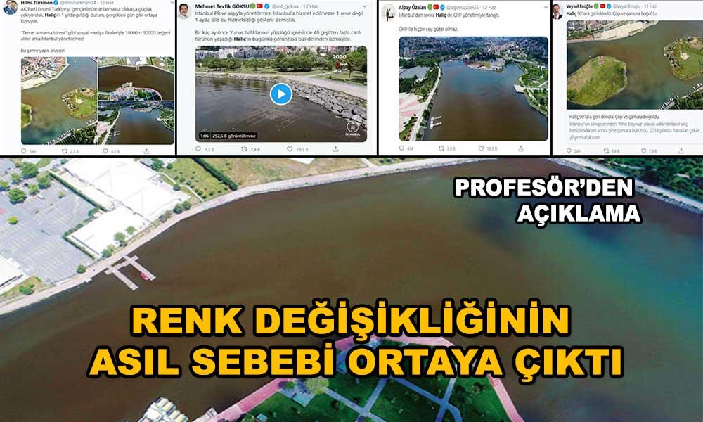 AKP'lilerin attığı çamur Profesör'den döndü