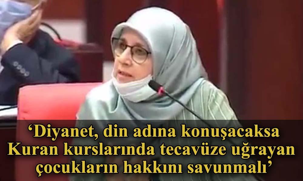 HDP'li Hüda Kaya: Diyanet kendi düşüncesini söylüyorsa, barolarda söyleyebilir