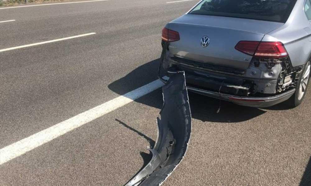 CHP'li başkan trafik kazası geçirdi