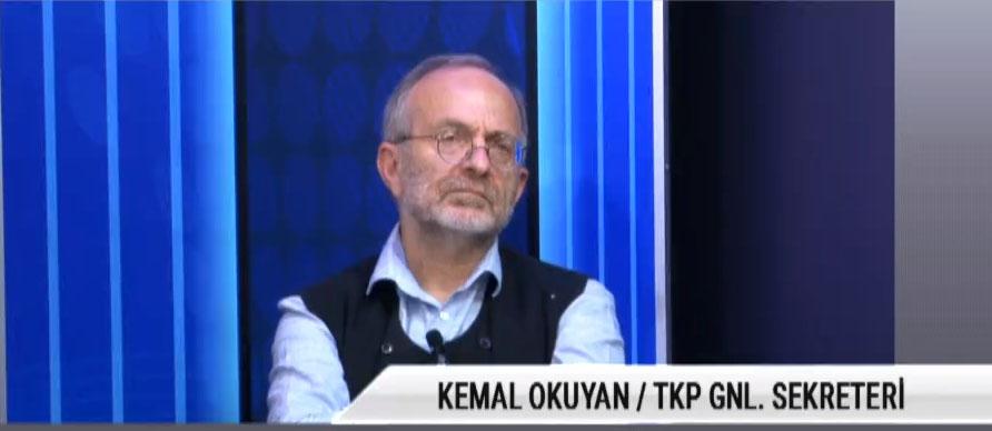 """TKP Genel Sekreteri Kemal Okuyan: """"Boyun eğdiğinizi gösterirseniz bu devam eder"""""""