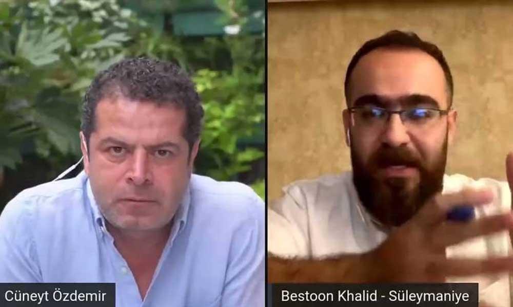 Cüneyt Özdemir Khalid ile yaptığı söyleşiyi YouTube kanalından kaldırdı mı?