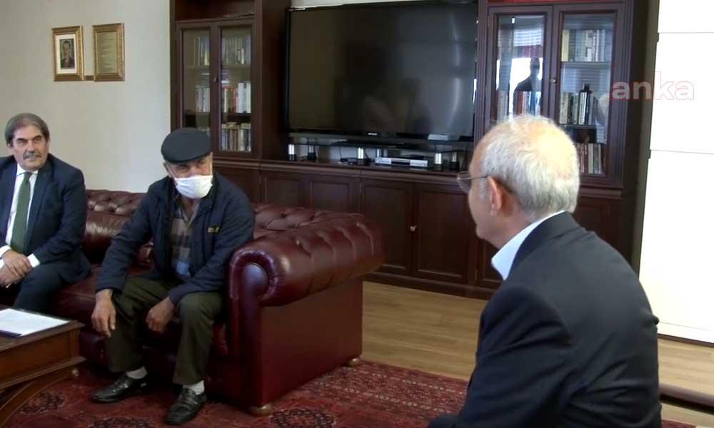 Cenazesinde lince uğradığı şehidin babasından Kemal Kılıçdaroğlu'na ziyaret