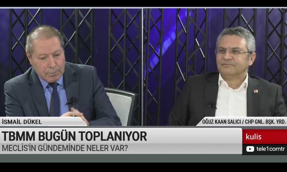 CHP'li Salıcı Meclis'te bugün konuşulması gereken iki konuyu açıkladı