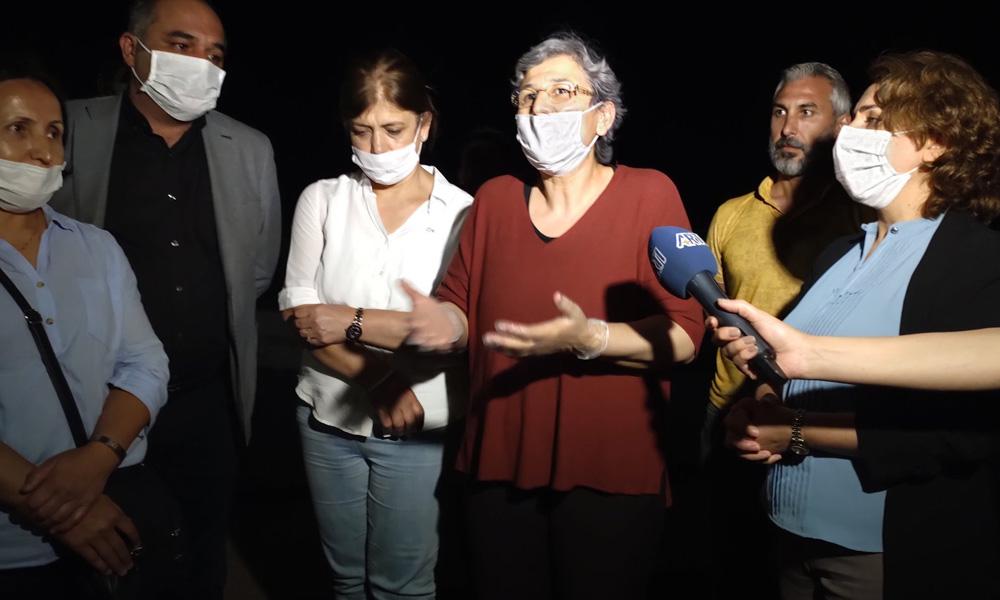 HDP'li Leyla Güven tahliye edildi!